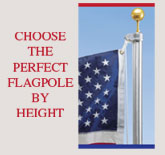 Flagpoles by Height